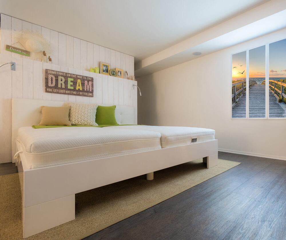 bettgestelle betten bruns. Black Bedroom Furniture Sets. Home Design Ideas